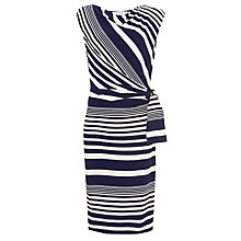 Buy COLLECTION by John Lewis Julianne Dress, Navy/White Online at johnlewis.com
