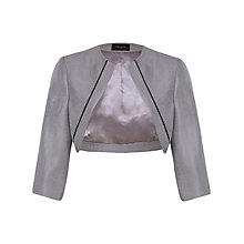 Buy Alexon Shimmer Bolero, Grey Online at johnlewis.com