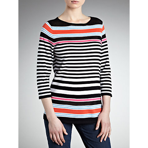 Buy Gerry Weber Stripe Jumper, Multi Online at johnlewis.com