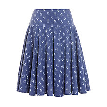 Buy John Lewis Block Print Godet Skirt Online at johnlewis.com