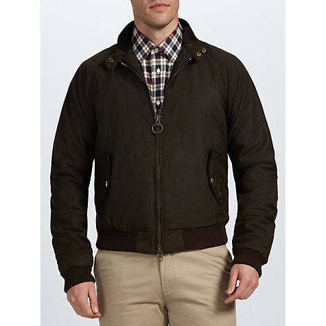 Buy Barbour International Steve McQueen™ Collection Merchant Waxed Jacket Online at johnlewis.com
