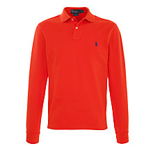 Buy Polo Ralph Lauren Slim Fit Long Sleeve Polo Shirt Online at johnlewis.com