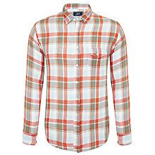 Buy Grayers Check Shirt, Orange Online at johnlewis.com