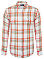 Grayers Check Shirt, Orange