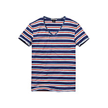 Buy Scotch & Soda Retro Stripe T-Shirt Online at johnlewis.com