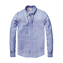 Buy Scotch & Soda Oxford Stripe Long Sleeve Shirt Online at johnlewis.com