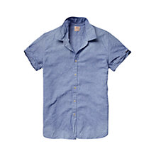 Buy Scotch & Soda Gingham Short Sleeve Shirt Online at johnlewis.com
