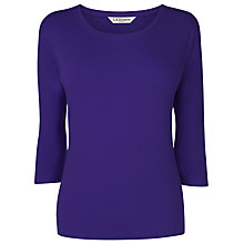 Buy L.K. Bennett Batwing Top, Electric Blue Online at johnlewis.com