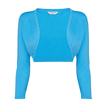 Buy L.K. Bennett New Shrug, Soft Aqua Online at johnlewis.com