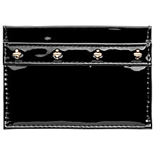 Buy Links Patent Leather Card Holder, Black Online at johnlewis.com