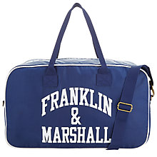 Buy Franklin & Marshall Week-end Holdall Online at johnlewis.com