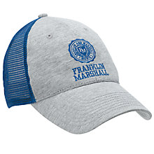 Buy Franklin & Marshall Mesh Embroidered Baseball Cap, Grey/Blue Online at johnlewis.com