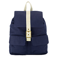 Buy Kin by John Lewis Canvas Rucksack Online at johnlewis.com