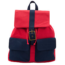 Buy Kin by John Lewis Canvas Backpack Online at johnlewis.com