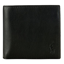 Buy Polo Ralph Lauren Pebble Leather Wallet Online at johnlewis.com