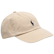 Buy Polo Ralph Lauren Signature Pony Baseball Cap Online at johnlewis.com