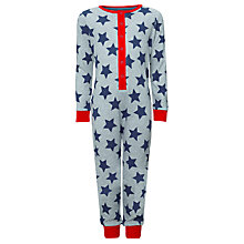 Buy John Lewis Boy Star Onesie Online at johnlewis.com