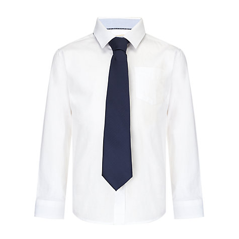 Buy John Lewis Boy Herringbone Tie Online at johnlewis.com