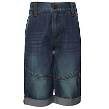 Buy John Lewis Boy Slim Fit Denim Shorts, Blue Online at johnlewis.com