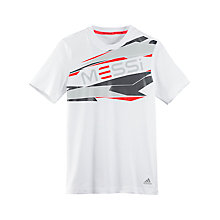 Buy Adidas Boy's Messi Graphic T-Shirt Online at johnlewis.com