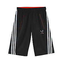 Buy Adidas Boy's Messi Bermuda Shorts Online at johnlewis.com