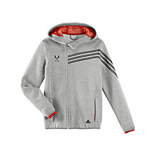 Buy Adidas Boy's Messi Full-Zip Hoodie Online at johnlewis.com