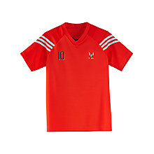 Buy Adidas Boy's Messi T-Shirt Online at johnlewis.com