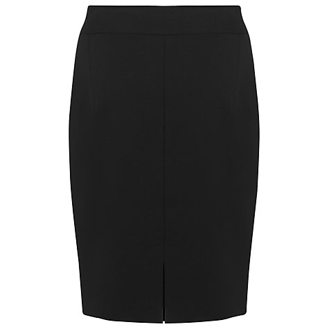 Buy L.K. Bennett Cissy Simple Pencil Skirt, Black Online at johnlewis.com