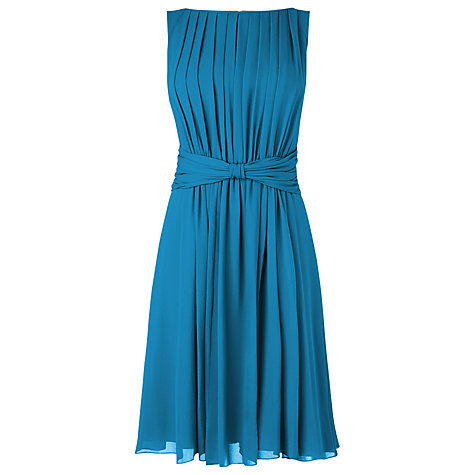 Buy L.K. Bennett Allium Dress, Dark Turquoise Online at johnlewis.com
