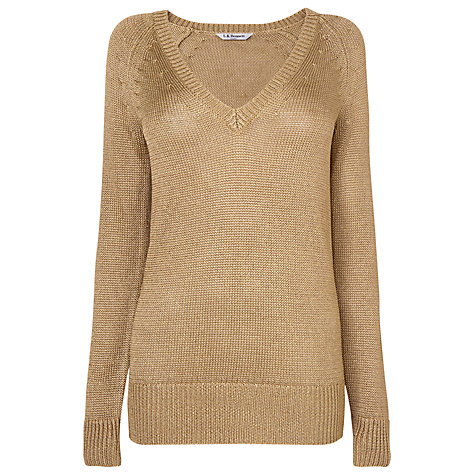 Buy L.K. Bennett Edith Lurex Jumper Online at johnlewis.com