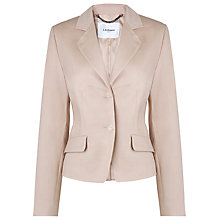 Buy L.K. Bennett Clara Jacket, Mocha Online at johnlewis.com