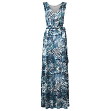 Buy L.K. Bennett Beata Jersey Maxi Dress, Navy Online at johnlewis.com