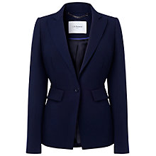 Buy L.K. Bennett Vally Fay Detail Jacket, Navy Online at johnlewis.com