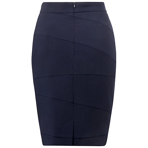 Buy L.K. Bennett Vally Pencil Skirt, Navy Online at johnlewis.com