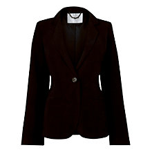 Buy L.K. Bennett Della Long Sleeve Slim Silk Blazer, Nella Online at johnlewis.com