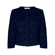 Buy L.K. Bennett Liv Broderie Angalais Jacket Online at johnlewis.com