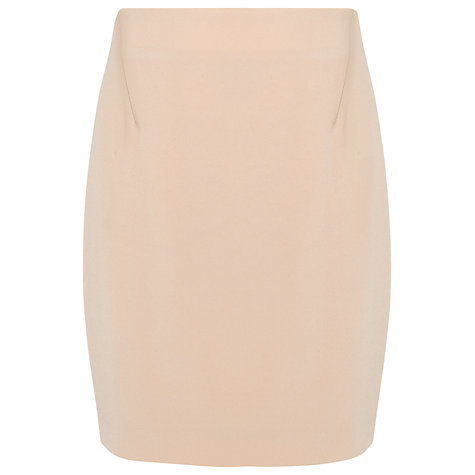Buy L.K. Bennett Edna Pencil Skirt, Soft Biscuit Online at johnlewis.com