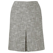 Buy L.K. Bennett Allina Tweed Skirt, Grey Online at johnlewis.com