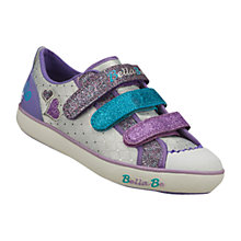 Buy Skechers Bella Ballerina Curtsies Trainers, White/Multi Online at johnlewis.com