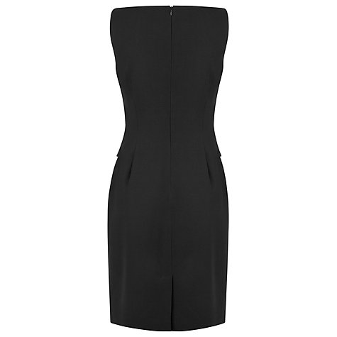 Buy L.K. Bennett Cissina Simple Dress, Black Online at johnlewis.com