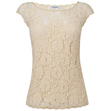 Buy L.K. Bennett Isabella Lace Top Online at johnlewis.com