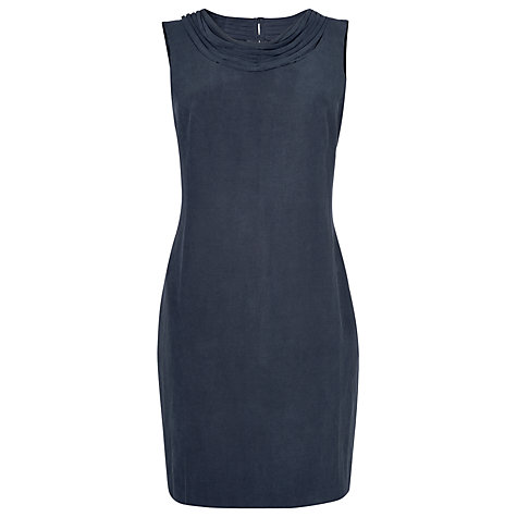 Buy L.K. Bennett Della Shift Dress, Navy Online at johnlewis.com