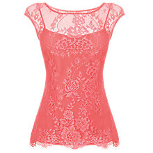 Buy L.K. Bennett Gabi Lace Top Online at johnlewis.com