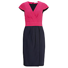 Buy COLLECTION by John Lewis Louisa Dress, Peony/Navy Online at johnlewis.com