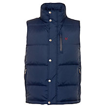 Buy Crew Clothing Ridley Puffer Gilet Online at johnlewis.com
