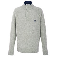 Buy Crew Cranbourne Half Zip Jumper Online at johnlewis.com