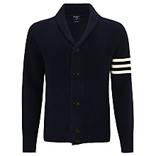 Buy Hackett London Varsity Shawl Neck Cardigan Online at johnlewis.com