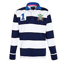 Buy Hackett London Long Sleeve Rugby Shirt Online at johnlewis.com