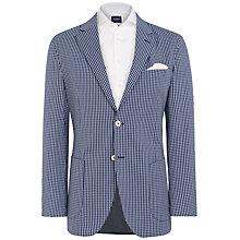 Buy Hackett London Ascot Check Cotton Blazer Online at johnlewis.com