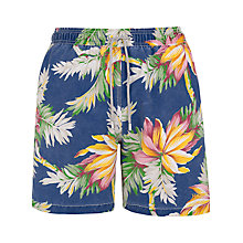 Buy Hackett London Hawaiian Print Swim Shorts Online at johnlewis.com